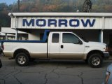 2000 Oxford White Ford F250 Super Duty XLT Extended Cab 4x4 #55018950