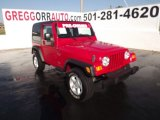 2006 Flame Red Jeep Wrangler X 4x4 #55019218