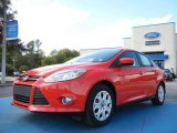 2012 Race Red Ford Focus SE Sedan #55018933