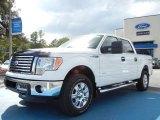 2011 White Platinum Metallic Tri-Coat Ford F150 XLT SuperCrew 4x4 #55018931
