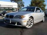 2004 Titanium Silver Metallic BMW 3 Series 330i Coupe #55018873