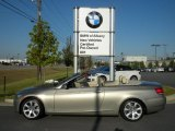 2009 Platinum Bronze Metallic BMW 3 Series 335i Convertible #55019175