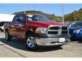 2010 Inferno Red Crystal Pearl Dodge Ram 1500 ST Crew Cab 4x4 #55018827