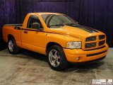 2004 Dodge Ram 1500 Custom Orange