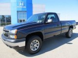 2006 Dark Blue Metallic Chevrolet Silverado 1500 LS Regular Cab 4x4 #55019397