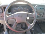 2006 Chevrolet Silverado 1500 LS Regular Cab 4x4 Steering Wheel