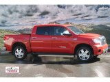 2007 Radiant Red Toyota Tundra Limited CrewMax 4x4 #55018792
