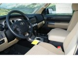 2012 Toyota Tundra TRD Double Cab 4x4 Sand Beige Interior
