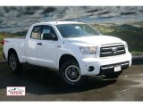 2012 Super White Toyota Tundra TRD Rock Warrior Double Cab 4x4 #55018789