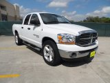 2006 Bright White Dodge Ram 1500 SLT Lone Star Edition Quad Cab #55019099