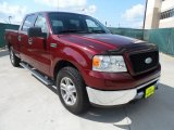 2006 Dark Toreador Red Metallic Ford F150 XLT SuperCrew #55019098