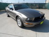 2005 Mineral Grey Metallic Ford Mustang V6 Deluxe Convertible #55019096