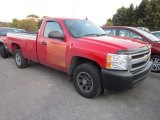 2008 Victory Red Chevrolet Silverado 1500 Work Truck Regular Cab #55018764