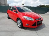 2012 Race Red Ford Focus SEL 5-Door #55019092