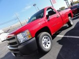 2012 Victory Red Chevrolet Silverado 1500 Work Truck Regular Cab #55019078