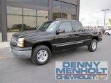 2004 Black Chevrolet Silverado 1500 LT Extended Cab 4x4 #55019339