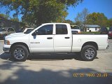 2003 Bright White Dodge Ram 1500 SLT Quad Cab 4x4 #55019039