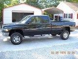2000 Black Dodge Ram 2500 SLT Extended Cab 4x4 #55019038