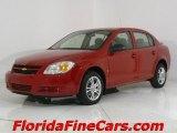 2007 Victory Red Chevrolet Cobalt LS Sedan #544088