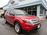 2011 Red Candy Metallic Ford Explorer XLT #55019034