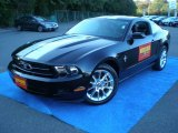 2011 Ebony Black Ford Mustang V6 Premium Coupe #55019023