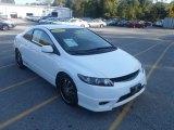 2007 Taffeta White Honda Civic LX Coupe #55073577