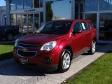 2010 Cardinal Red Metallic Chevrolet Equinox LS #55073678