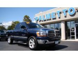 2006 Patriot Blue Pearl Dodge Ram 1500 SLT Quad Cab #55073520