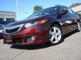 2009 Basque Red Pearl Acura TSX Sedan #55073411