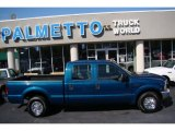 2002 Ford F250 Super Duty Island Blue Metallic