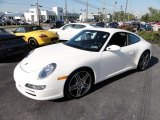 Carrara White Porsche 911 in 2008