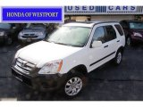 2006 Taffeta White Honda CR-V EX 4WD #55097012