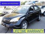 2008 Nighthawk Black Pearl Honda CR-V LX 4WD #55097010