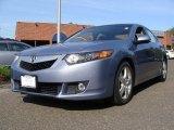 2009 Glacier Blue Metallic Acura TSX Sedan #55101788