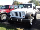 2012 Bright White Jeep Wrangler Sport S 4x4 #55101587