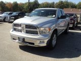 2011 Bright Silver Metallic Dodge Ram 1500 Big Horn Quad Cab 4x4 #55101583