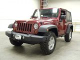 2012 Deep Cherry Red Crystal Pearl Jeep Wrangler Rubicon 4X4 #55101767