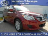 2012 Deep Claret Red Metallic Volkswagen Routan SEL #55101764