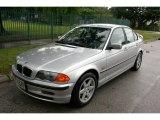 2001 Titanium Silver Metallic BMW 3 Series 325i Sedan #55101424