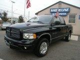 2003 Black Dodge Ram 1500 Laramie Quad Cab 4x4 #55101555
