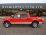 2011 Race Red Ford F150 XLT SuperCrew 4x4 #55101479