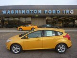 2012 Yellow Blaze Tricoat Metallic Ford Focus SE Sport 5-Door #55101474