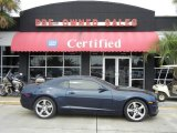 2010 Imperial Blue Metallic Chevrolet Camaro SS Coupe #55101343