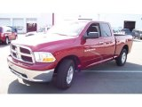 2011 Deep Cherry Red Crystal Pearl Dodge Ram 1500 SLT Quad Cab 4x4 #55101340