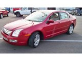 2008 Redfire Metallic Ford Fusion SEL #55101334