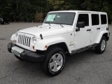 2012 Jeep Wrangler Unlimited Bright White