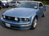 2006 Windveil Blue Metallic Ford Mustang GT Premium Convertible #55101297
