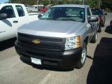 2012 Silver Ice Metallic Chevrolet Silverado 1500 Work Truck Regular Cab #55138153