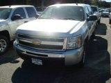 2011 Sheer Silver Metallic Chevrolet Silverado 1500 LS Crew Cab #55138143