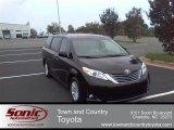 2012 Black Toyota Sienna XLE #55138428